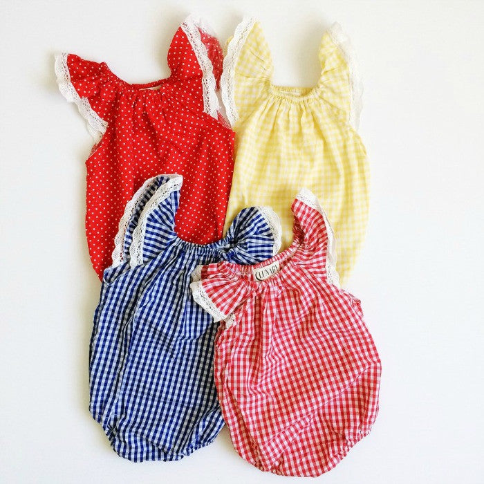 Lunaby Baby - Vintage Baby Rompers