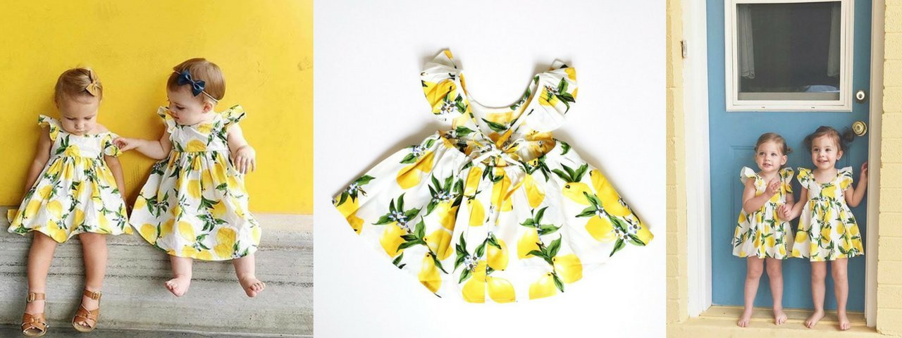 Baby Girl Lemon Dress