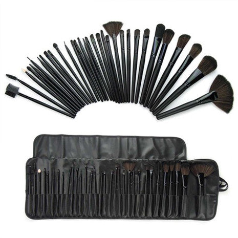 32 Piece Makeup Brush Set - Her Teen Dream