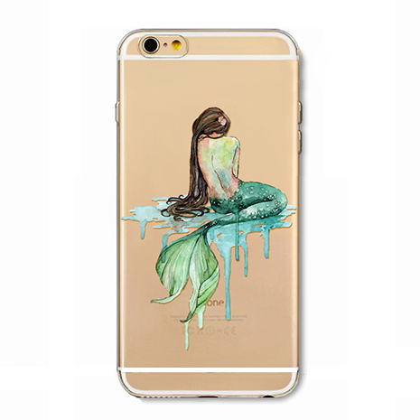 Dripping Mermaid iPhone Case - Her Teen Dream