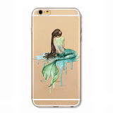 Dripping Mermaid Tail iPhone Case - Her Teen Dream
