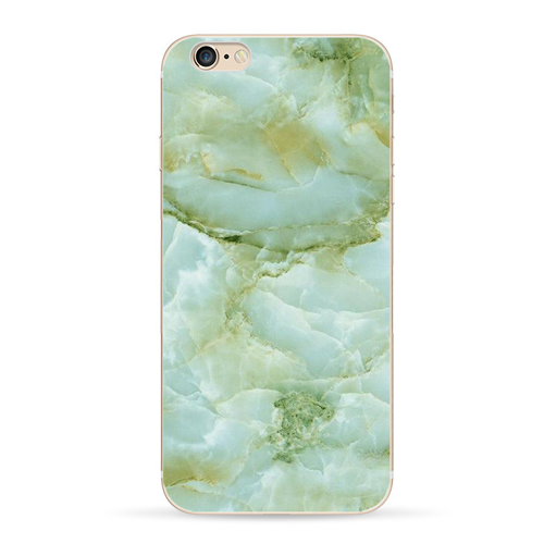 Green Soft Granite Marble iPhone Case - Her Teen Dream