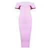 Lavender Bodycon Dress - Her Teen Dream