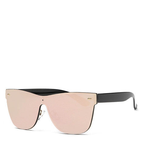 Aya Rose Gold Rimless Sunglasses - Her Teen Dream