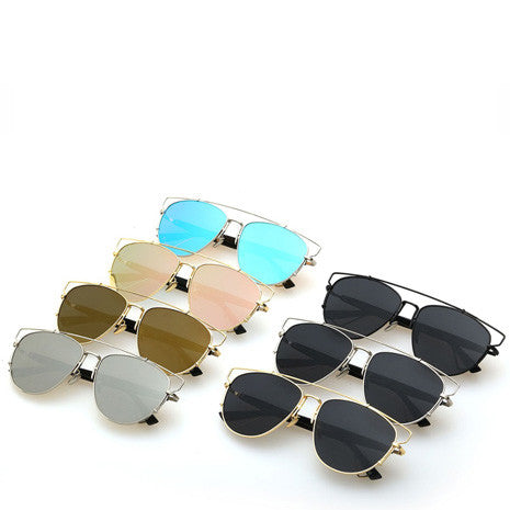 Alessa Aviator Sunglasses - Gold - Her Teen Dream