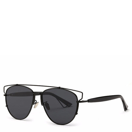 Alessa Aviator Sunglasses - Black - Her Teen Dream
