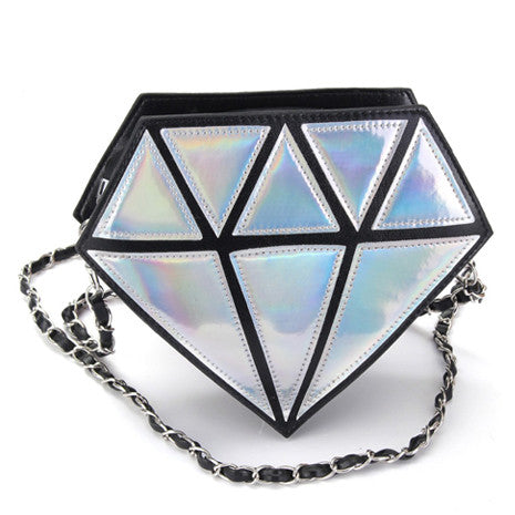 Diamond Holographic Bag - Her Teen Dream