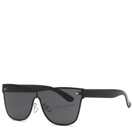 Aya Black Rimless Sunglasses - Her Teen Dream