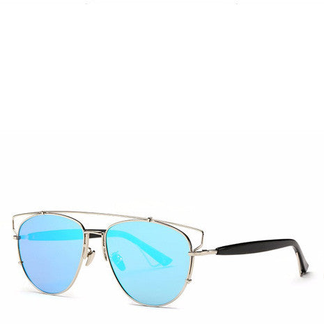 Alessa Aviator Sunglasses - Blue - Her Teen Dream