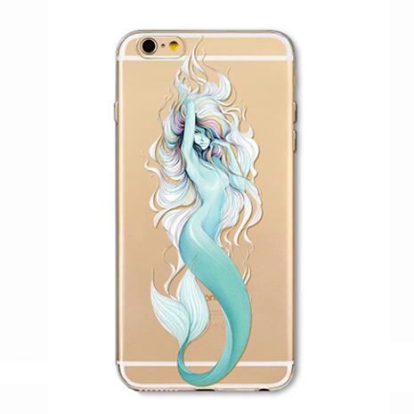 Blue Mermaid Tail iPhone Case - Her Teen Dream
