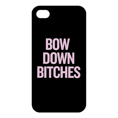 The Bow Down Bitches iPhone Case - Her Teen Dream