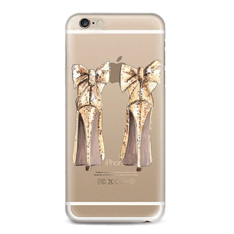 TPU High Heel Bow iPhone Case - Her Teen Dream