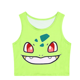 Pokémon Bulbasaur Crop Top - Her Teen Dream