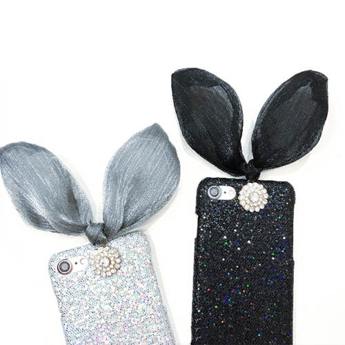 brand new 39a62 afcf2 Bunny Ears iPhone Case