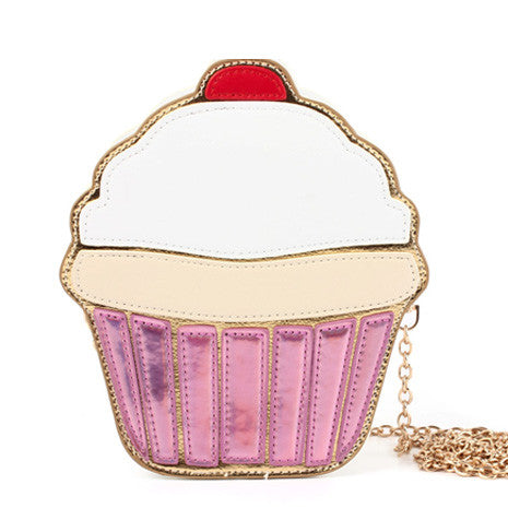Cupcake Novelty Shoulder Bag - Her Teen Dream