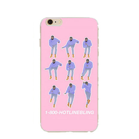 iPhone 6 Drake Dancing Hotline Bling case - Her Teen Dream