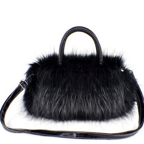 Faux Fur Handbag - Her Teen Dream