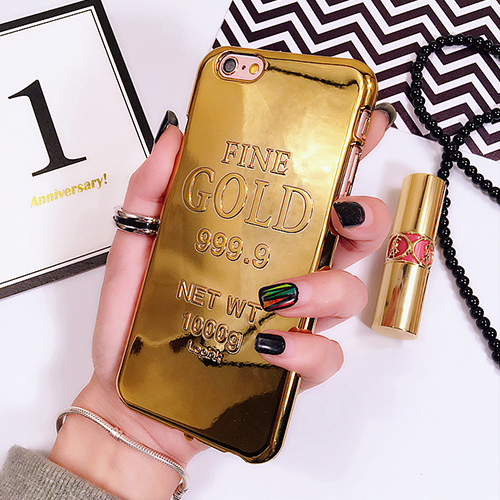 Fine Gold 999.9 iPhone Case - Her Teen Dream