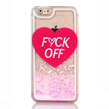 F*CK OFF iPhone Case - Her Teen Dream