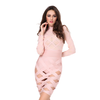Geometric Body Con Dress- Blush - Her Teen Dream