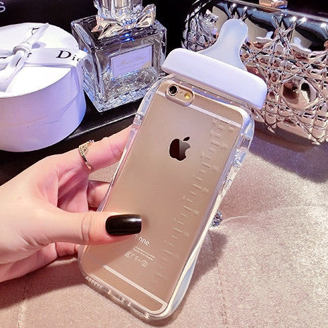 iPhone Gold Baby Bottle - Her Teen Dream