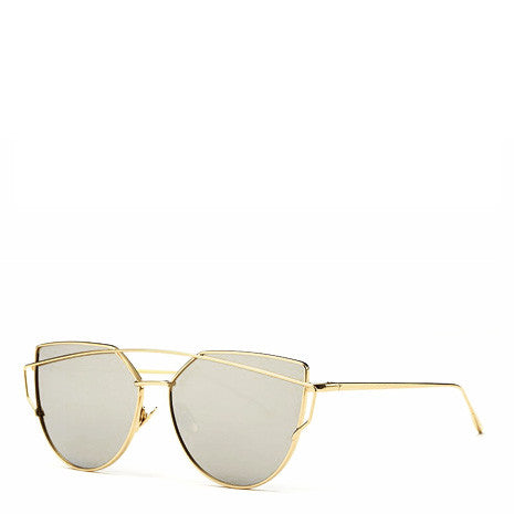 Ray Grey Gold Sunglasses - Her Teen Dream