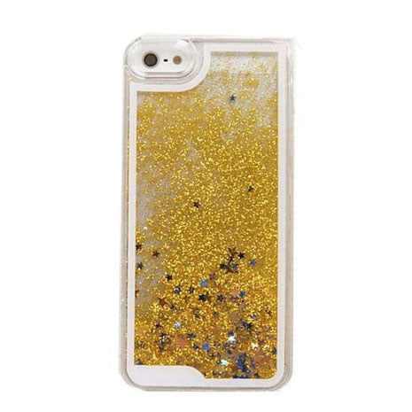 Quicksand Gold Glitter iPhone Case - Her Teen Dream