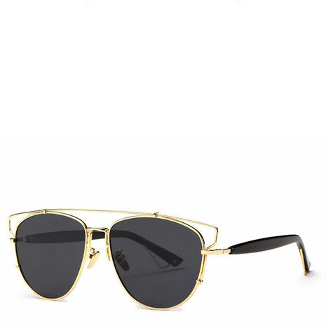 Alessa Aviator Sunglasses - Gold Rims - Her Teen Dream