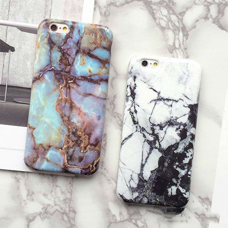 Marble Texture iPhone Case - Her Teen Dream