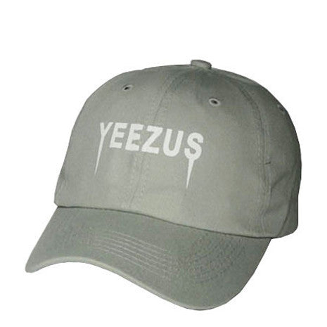 Grey Yeezus Hat - Her Teen Dream