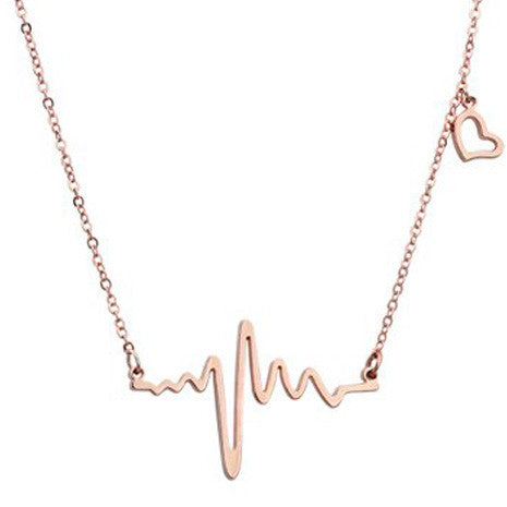 Heartbeat Necklace - Her Teen Dream