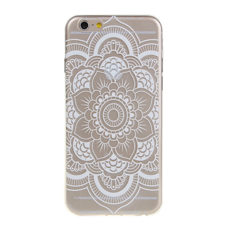TPU Henna Design iPhone Case - Her Teen Dream