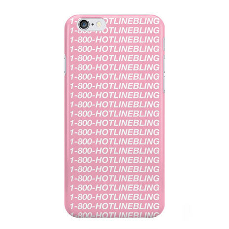 Hotline Bling Parody iPhone Case - Her Teen Dream