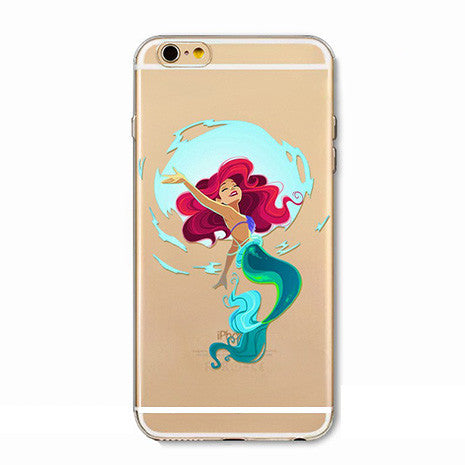 Little Mermaid Illustration iPhone Case - Her Teen Dream