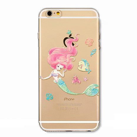 Little Mermaid Illustration 2 iPhone Case - Her Teen Dream