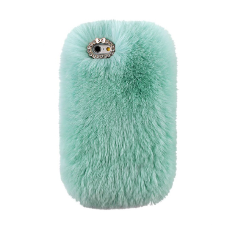 Furry Light Green iPhone Case - Her Teen Dream