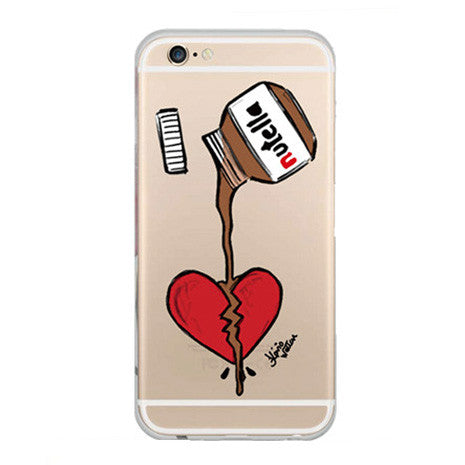 TPU Nutella iPhone Case - Her Teen Dream