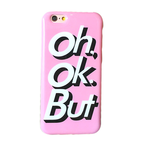 Oh, Ok, But iPhone Case - Her Teen Dream