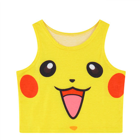 Pokémon Pikachu Crop Top - Her Teen Dream
