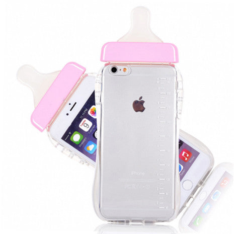 iPhone Pink Baby Bottle - Her Teen Dream