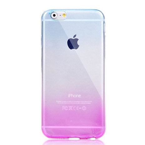 Pink Blue Ombre iPhone Case - Her Teen Dream