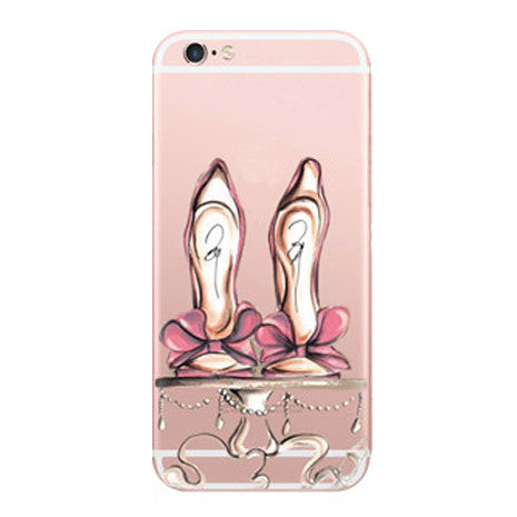 buy popular 8bc92 86f93 Designer Bow Shoes iPhone 6/6s Case
