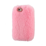 Furry Light Pink iPhone Case - Her Teen Dream