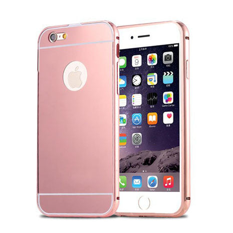Rose Gold Reflective iPhone Case - Her Teen Dream