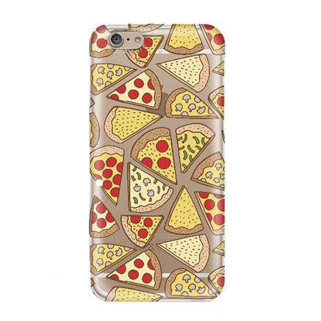TPU Pizza iPhone Case - Her Teen Dream