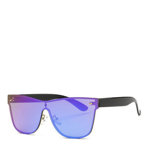 Aya Purple Rimless Sunglasses - Her Teen Dream