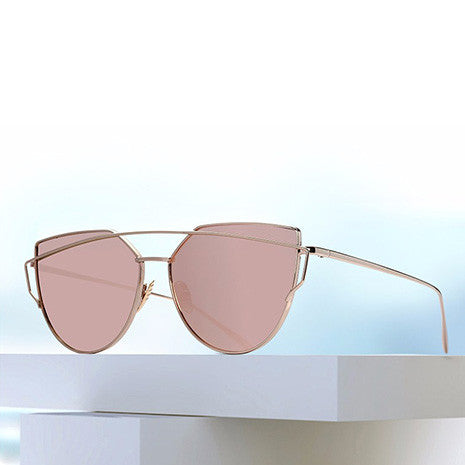 Ray Rose Gold Sunglasses - Her Teen Dream