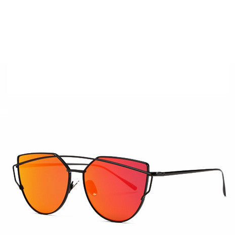 Ray Red Reflective Sunglasses - Her Teen Dream