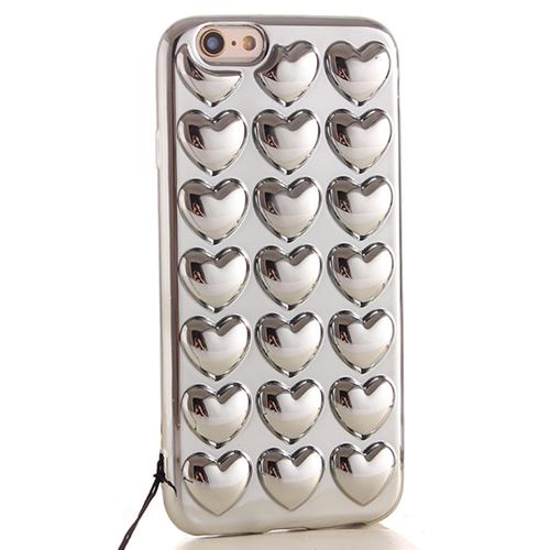 Reflective Heart iPhone Case