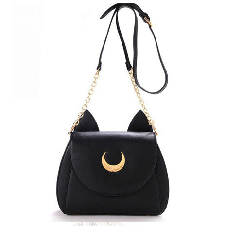 Sailor Moon Black Bag - Her Teen Dream